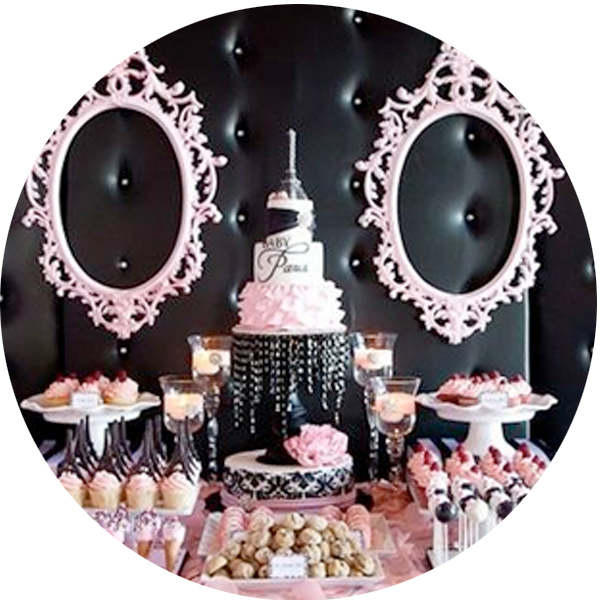 atlanta candy buffet table