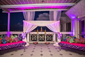 Atlanta Peachtree Club Roof Top Venue Wedding Decor Florist