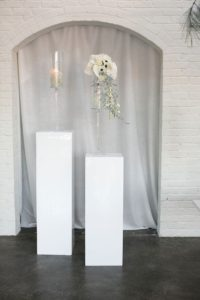 Atlanta Drapery, Chuppah, Altar Backdrop, Arch, pedestal, Wedding Decor Rentals