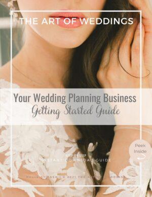 start your wedding planning business