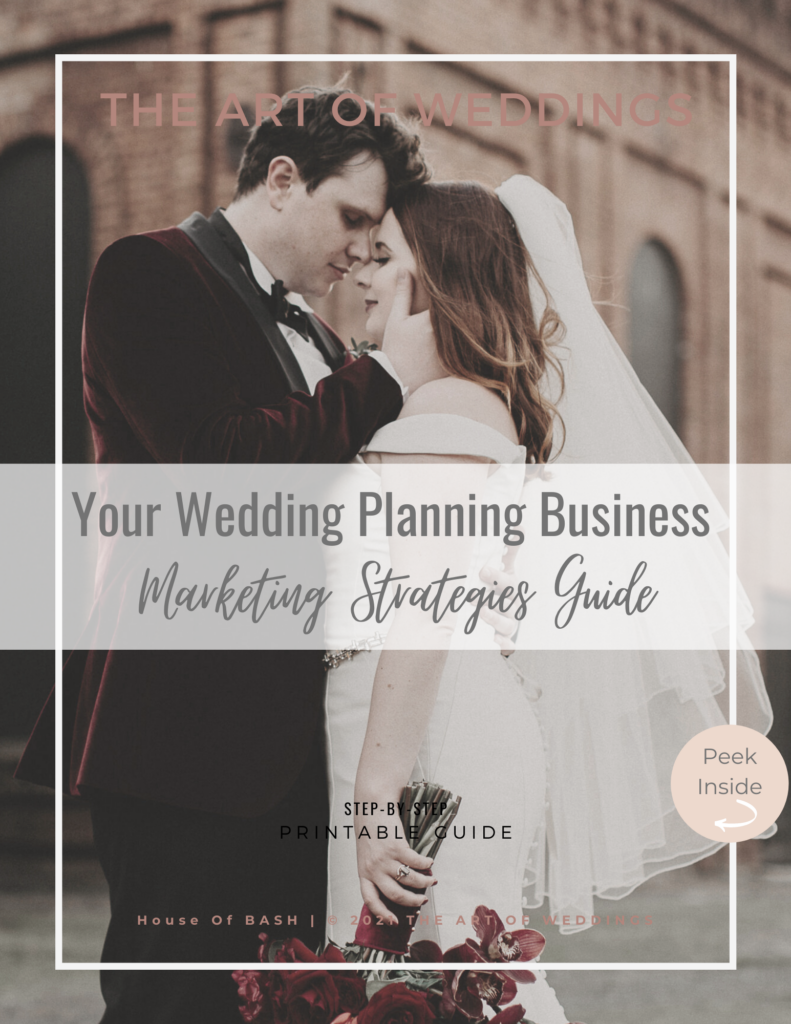 How to get leads for your wedding planning business
