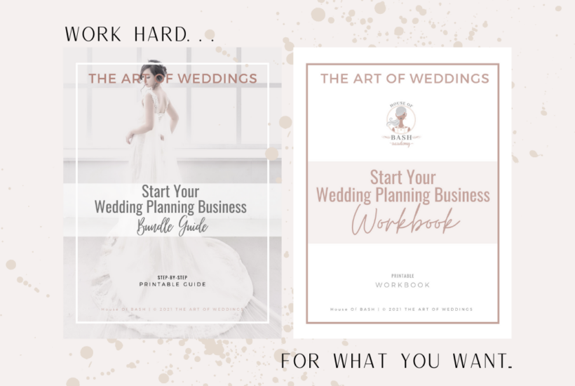 how to start your wedding planning business