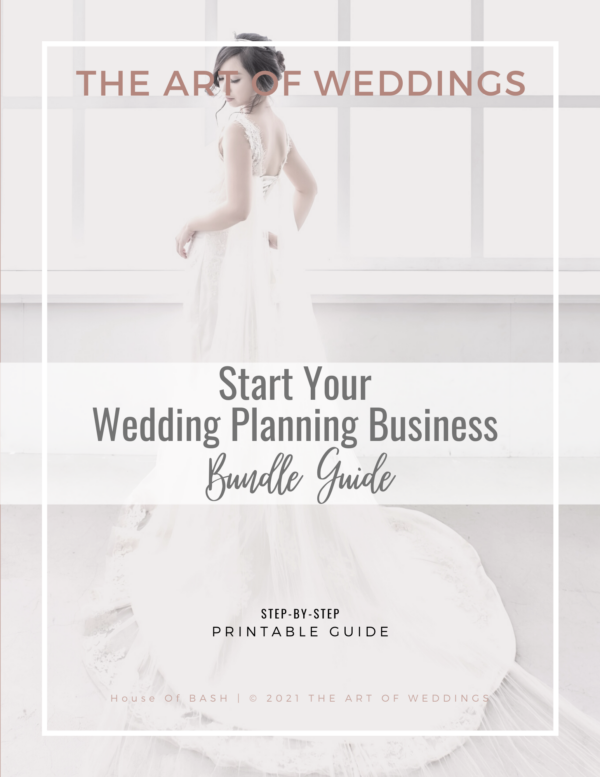 Launch Your Wedding Planning Business