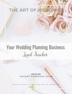 Lead Tracker For Wedding Planner