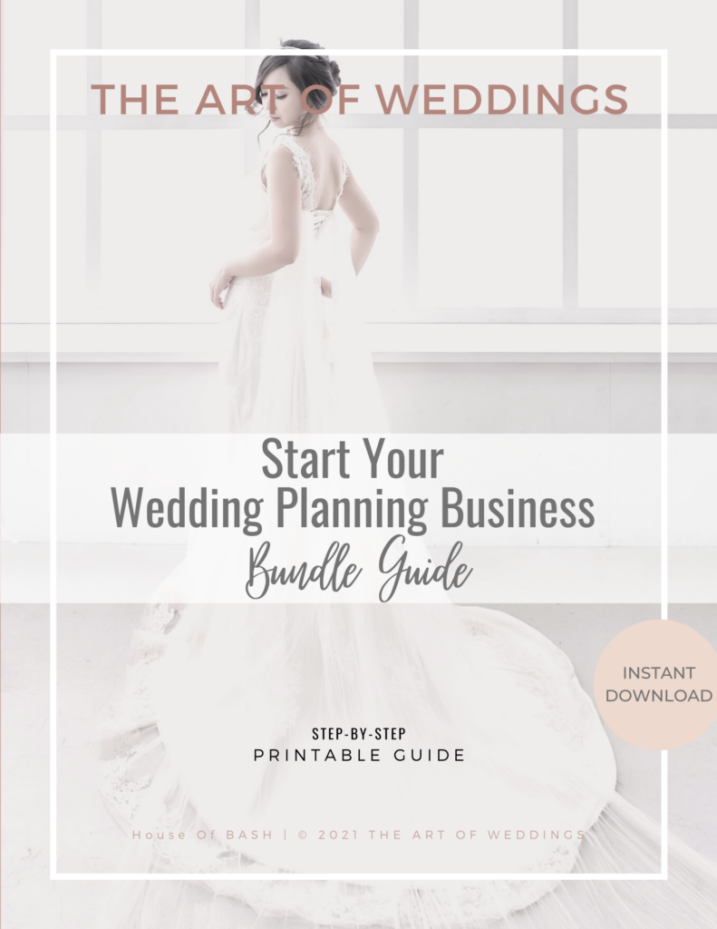 Wedding Planning Business Guides