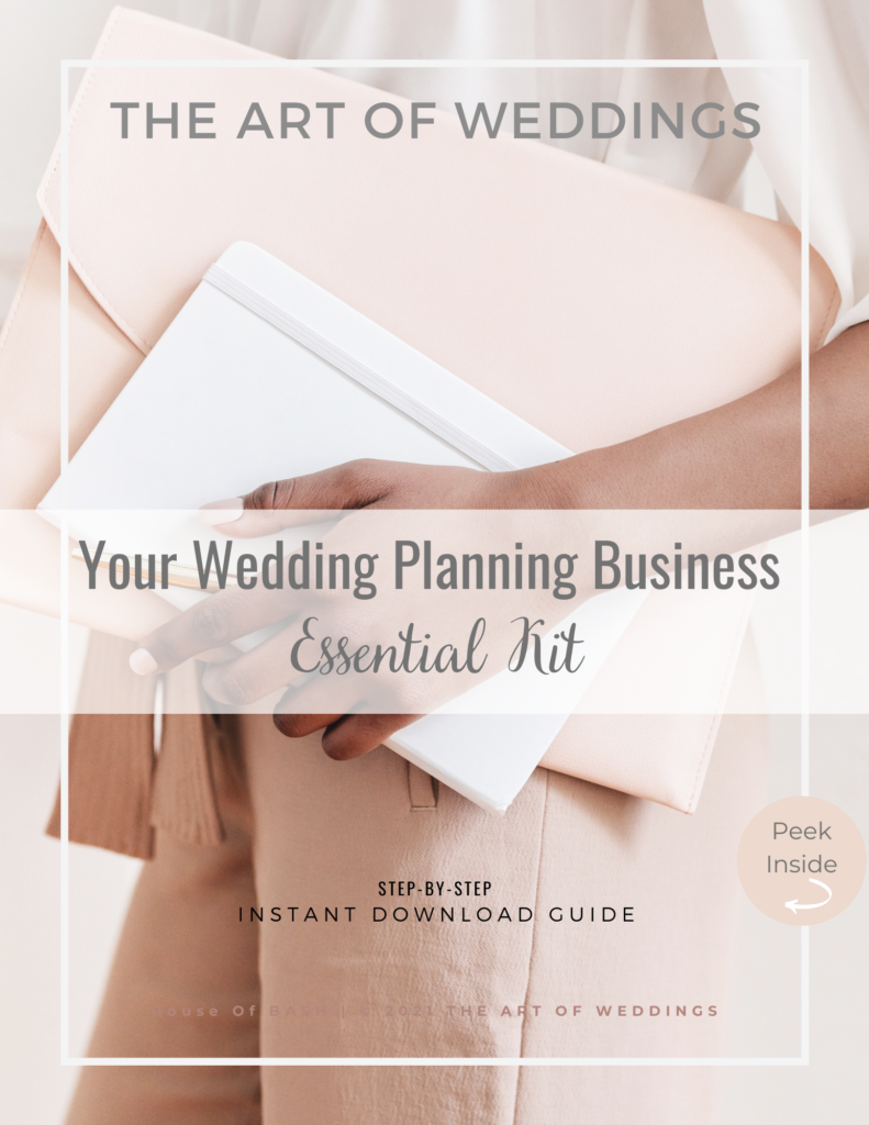 Wedding planning budget tracking