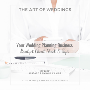 Wedding Budget Cheat Sheet