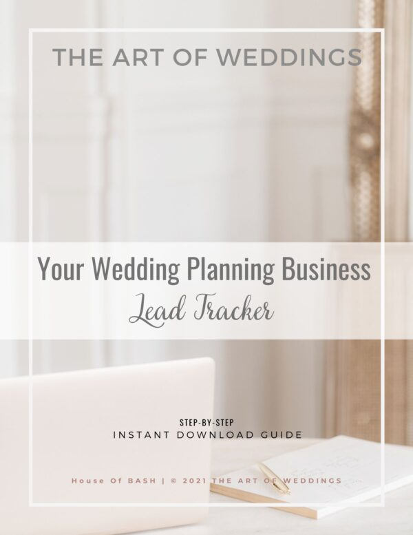 Lead Magnet For Wedding Planners